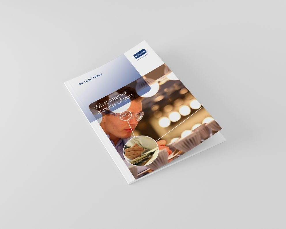Intertek booklet design