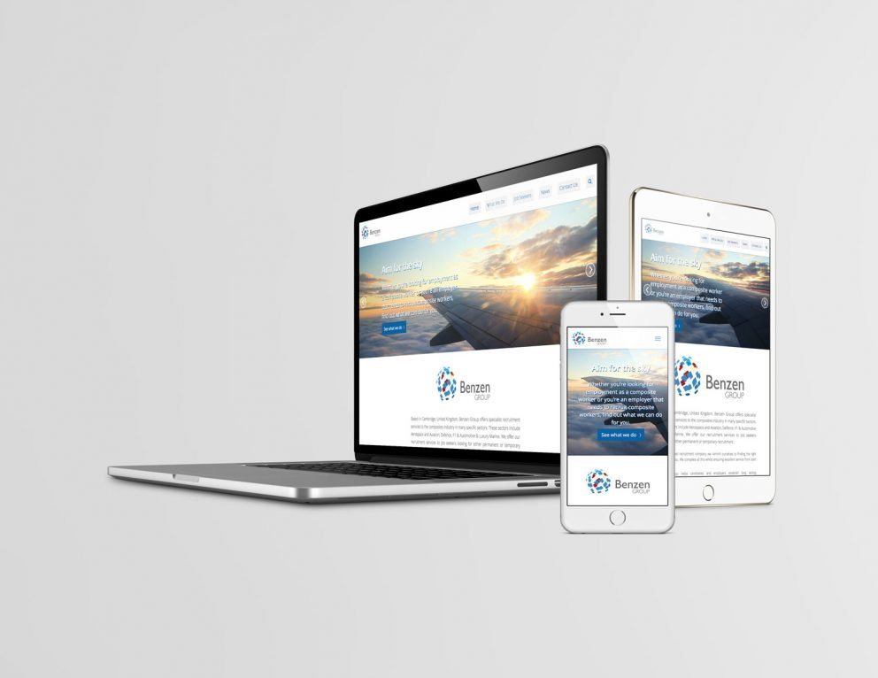 Benzen Group - Responsive Website