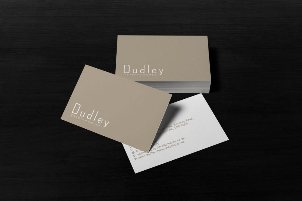 Dudley Developments - Business Card