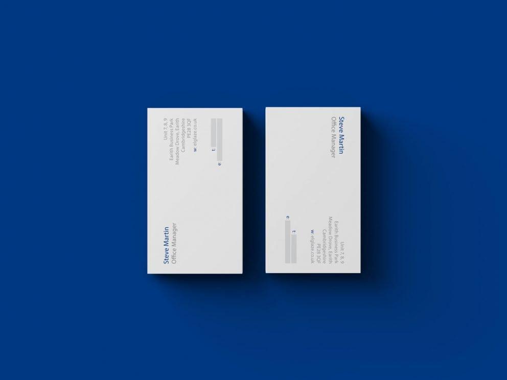 Elglaze Ltd - Business Cards