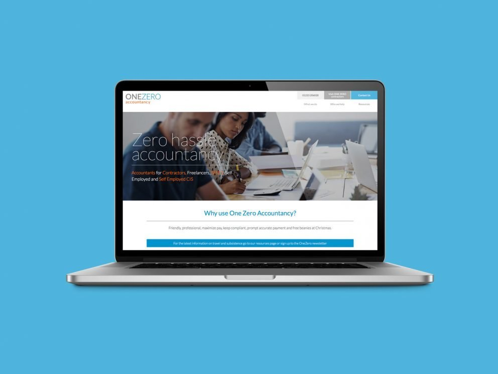 One Zero Accountancy - Responsive Website